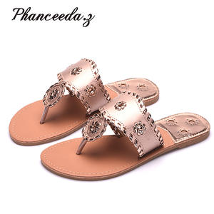 Phanceeda Z Shoes Women Flip Flops Summer Slippers Sandal