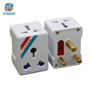 Image 2 - Южная Африка большой круглый 3 Pin AC Power Электрический штекер дорожный адаптер для США, ЕС, Великобритании, Австралии адаптер розетка адаптер предохранитель 15A