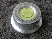 3 En 1 Abrazadera de Registro Tocadiscos LP Disco Estabilizador de plata 50 HZ