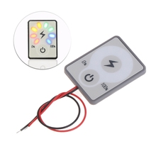 12 В 24 в ЖК-дисплей Автомобильный кислотно-свинцовый индикатор емкости литиевой батареи тестер измеритель мощности