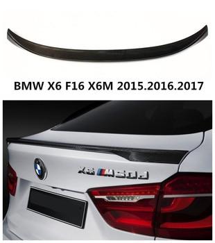 Carbon Fiber Spoiler Cho BMW X6 F16 X6M 2015.2016.2017 Chất Lượng Cao P Phong Cách Xe Phía Sau Cánh Spoilers Phụ Tùng Ô Tô