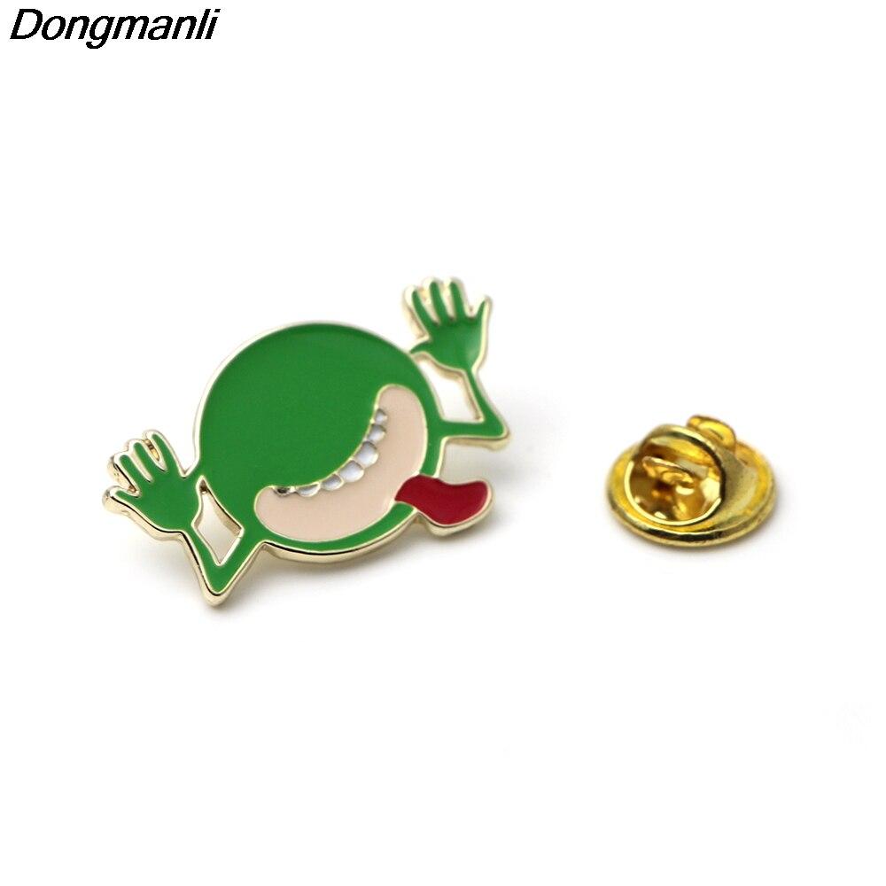 Dongmanli 20 шт./компл. мультфильм одежда контакты HITCHHIKERS по Галактике брошь эмаль  ...