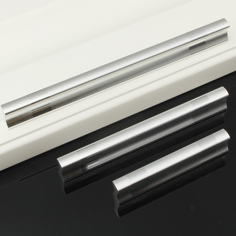 Aluminum Door Handles Simple Drawer Pulls Wardrobe Closet Kitchen Cabinet S And For Furniture
