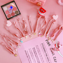 Korea Japan Cute Popular Magic Sakura Sailor Moon Pink Head Rope Comb Toy Baby Kids Party Birthday Favors Supplies Girl Gifts(China)