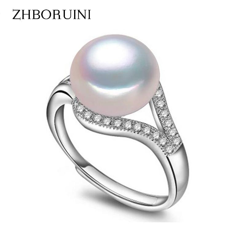 Generous Schmuck-stck Ring 925 Silber Neu Suesswasser Perle S Elegant In Style Uhren & Schmuck