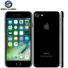 "Apple iPhone 7/iPhone 7 Plus четырехъядерный 12,0 МП камера 32G/128G/256G Rom 4,"" /5,5"" отпечаток пальца 4G разблокированный мобильный телефон"