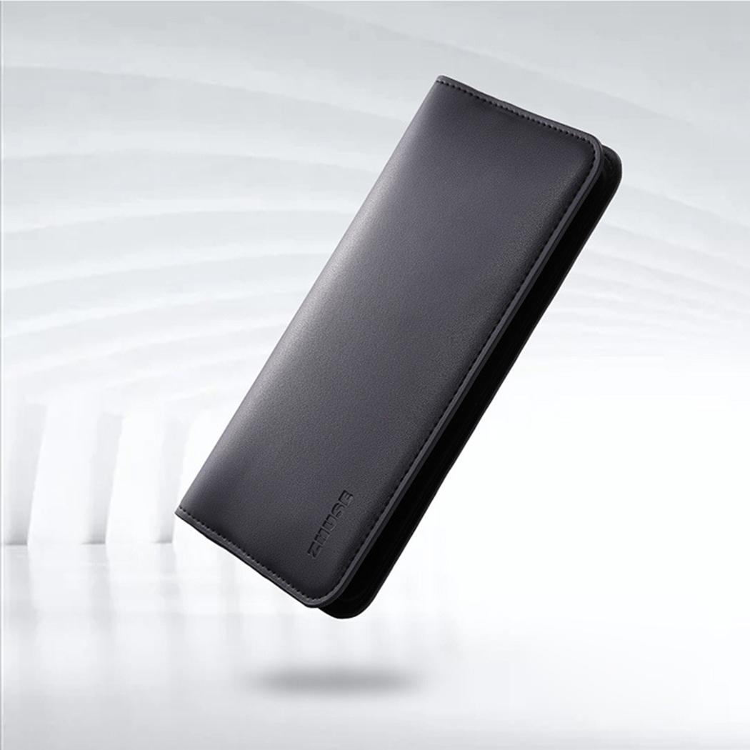 2 en 1 8000 mAh Portable batterie externe pour iPhone chargeur sans fil en cuir artificiel chargeur de batterie externe noir rouge appauvrbank