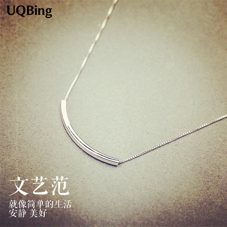 Drop Shipping 925 Sterling Silver Necklaces For Women Jewelry Collar Colar de Pl