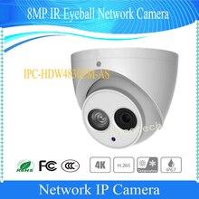 Бесплатная доставка Dahua 2016 новый продукт IP Камера 8MP Full HD ИК глазного яблока сети Камера с POE IP67 без логотипа IPC-HDW4830EM-AS