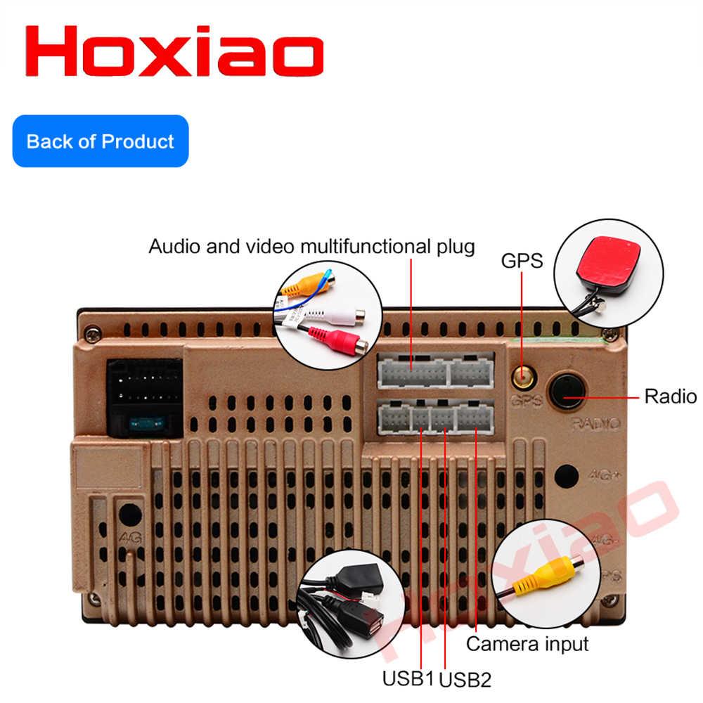 Hoxioa 2din Android 6,0 coche reproductor de DVD GPS Wifi Bluetooth USB 7 pulgadas 2 din Autoradio coche radio
