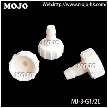 Free shipping!(10pcs/Lots) MJ-8-G1/2L straight female connector 8mm to G1/2″ internal thread  pipe joint fitting
