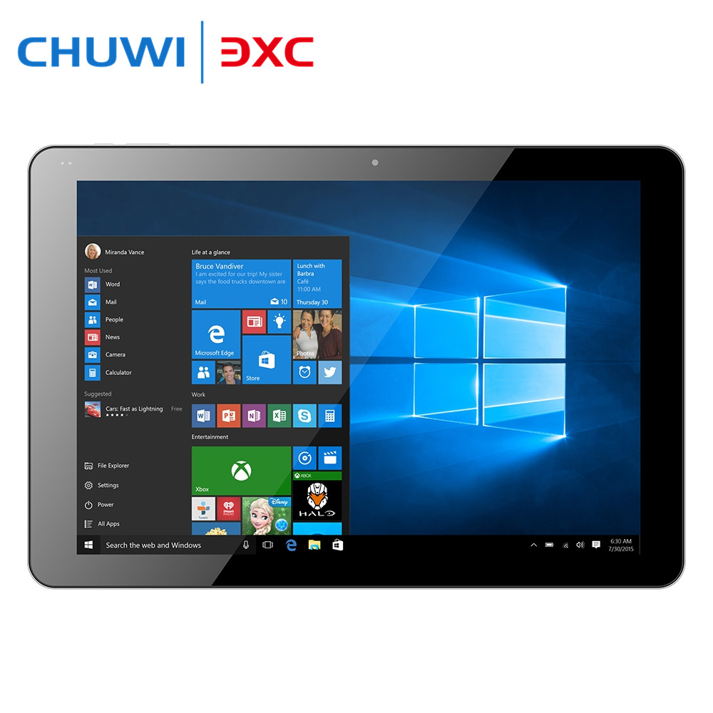 Original Chuwi Hi12 12 inch Tablet PC Windows 10 Android 5.1 Intel Cherry Trail Z8350 Quad Core 4GB RAM 64GB ROM USB 3.0 11000mA chuwi hi10 pro 10 1 tablet pc cherry trail z8350 windows 10 android 5 1 4gb 64gb