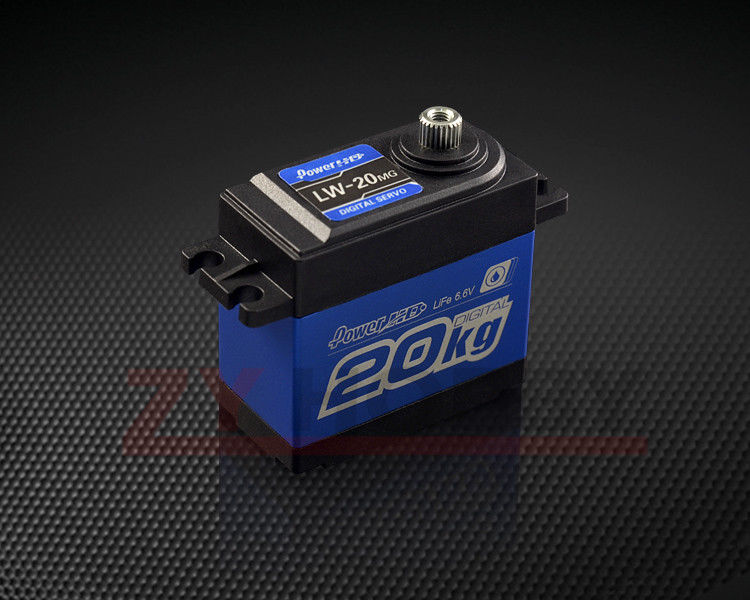 LW-20MG Standard High Torque Digital Servo For RC Cars Waterproof jx pdi 6221mg 20kg large torque digital standard servo for rc model