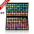 Profissional 168 cores matte / pérola brilho sombra maquiagem sombra make up Palette 2 jogos/lote