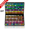 wholesale professional 168 colors matte / Shine Pearl eye shadow beauty makeup eyeshadow make up Palette 2sets/lot free shipping