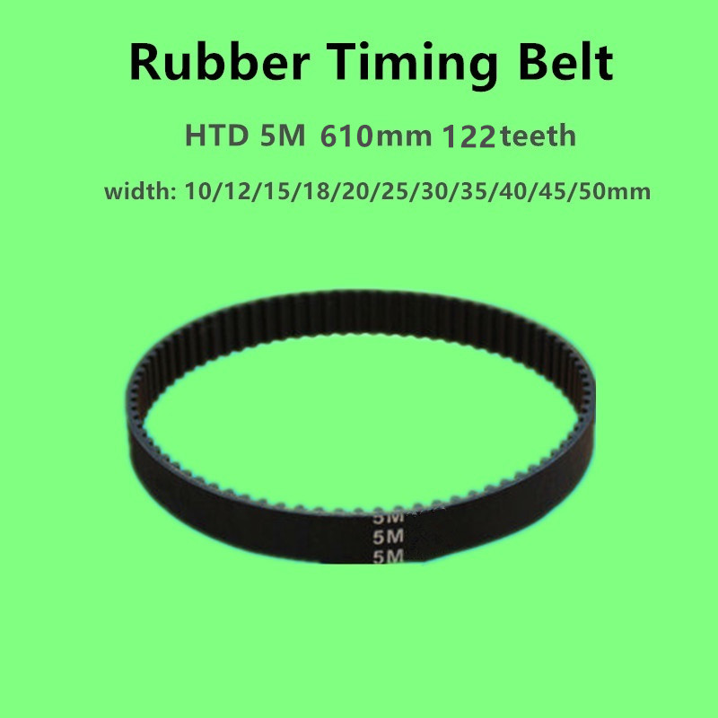 GT2 Closed Timing Belt 6mm Width 2mm Pitch 288-640mm Perimeter For 3D Printer