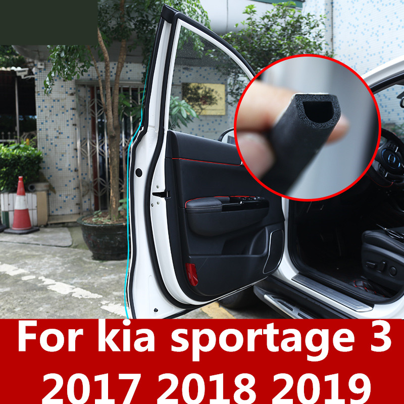 2017 Kia Sportage Transmission: For Kia Sportage 3 2017 2018 2019 Car Rubber Seal Sound