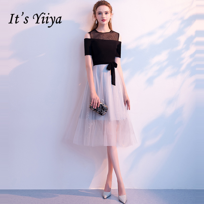 It's Yiiya   Prom     Dresses   2018 Girls Fashion Designer Simple High Quality   Prom   Gowns Party   Dresses   Formal   Dresses   LX907