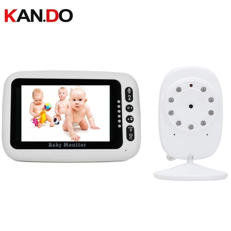 Caméra sans fil bébé moniteur vision nocturne 2.4