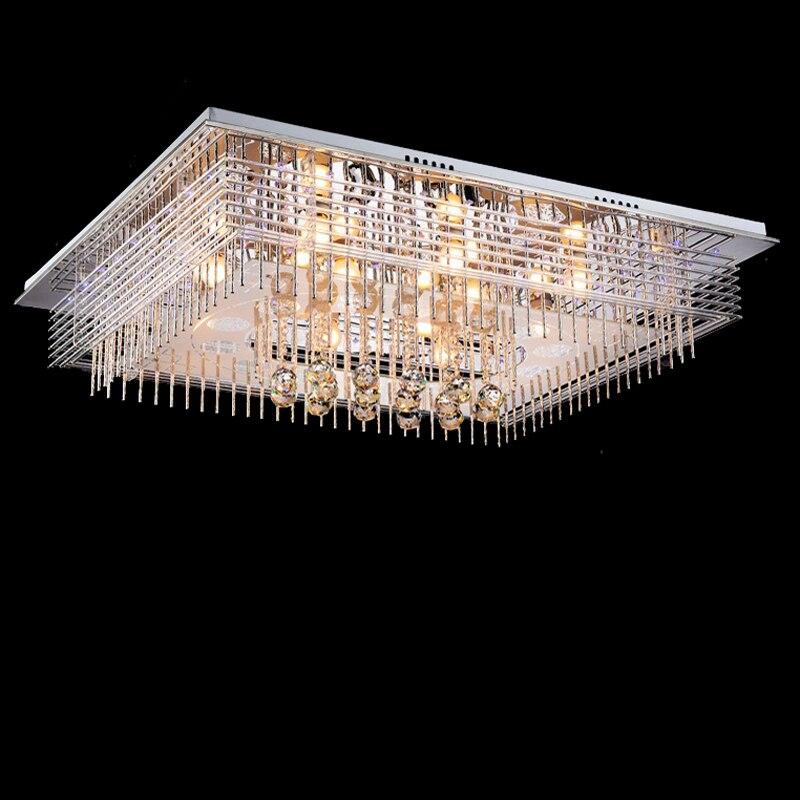 new modern oval crystal chandelier luxury foyer chandeliers cristal lamp flush LED light