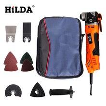 Hilda renovator aracı salınan çok fonksiyonlu elektrikli testere giyotin ev yenileme aracı düzeltici ahşap araçları çanta ambalaj
