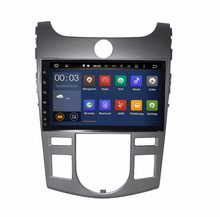 9 inch HD Quad core Android 6.0 Car video stereo for KIA CERATO / FORTE/ KOUP 2008-09 -2012 car DVD player with Radio head unit(China)