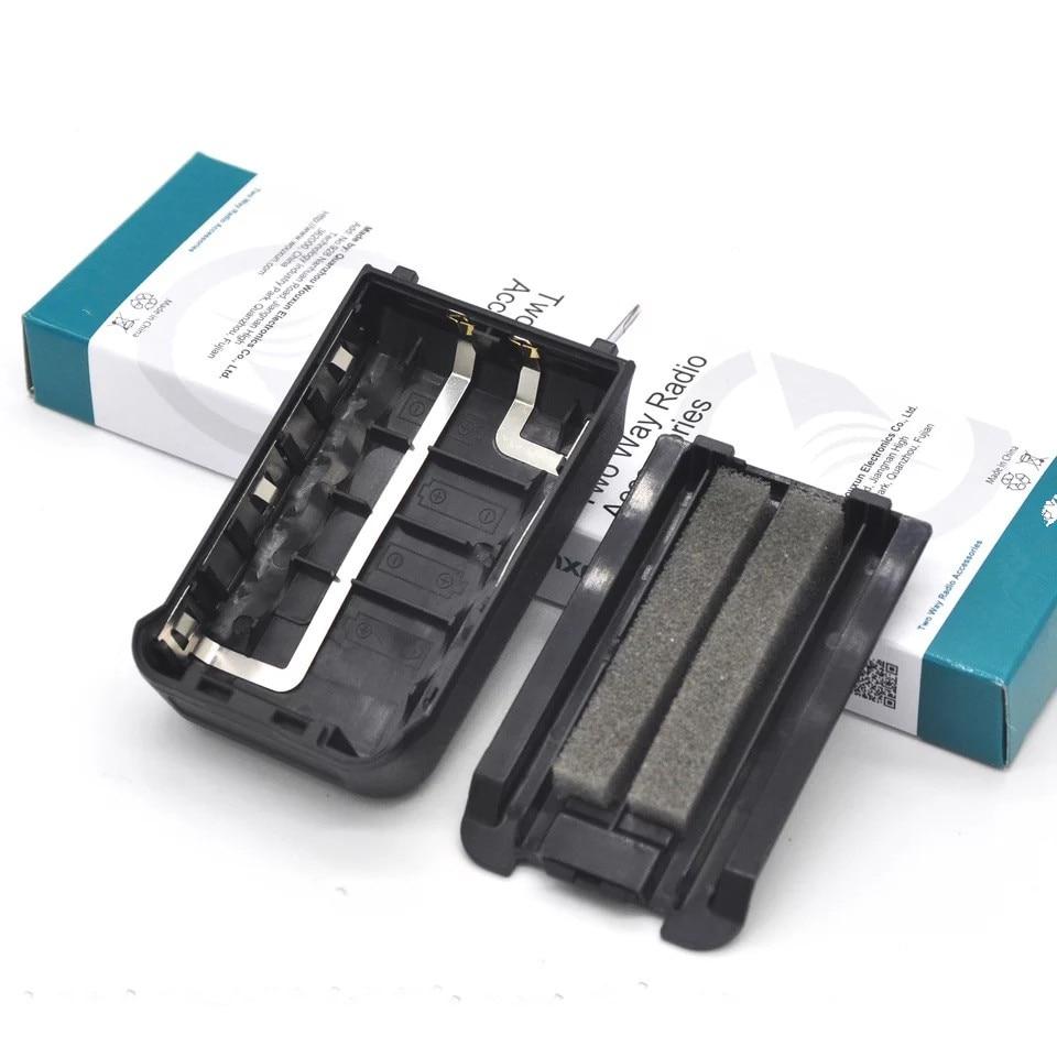 Original 5XAA Battery Box Case For Wouxun KG-UV8D KG-UV8Dplus KG-2A-4