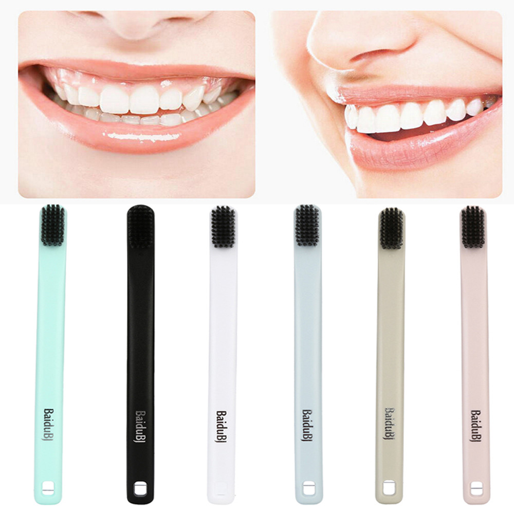 Toothbrush For Men Women Creative Soft Whitening Toothbrush High-grade Bamboo Charcoal Teethbrush For Adults Child #40 image
