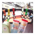 1 pc 0-24 Months Baby Simple Colorful Rattles Hook Toys 97003-97008