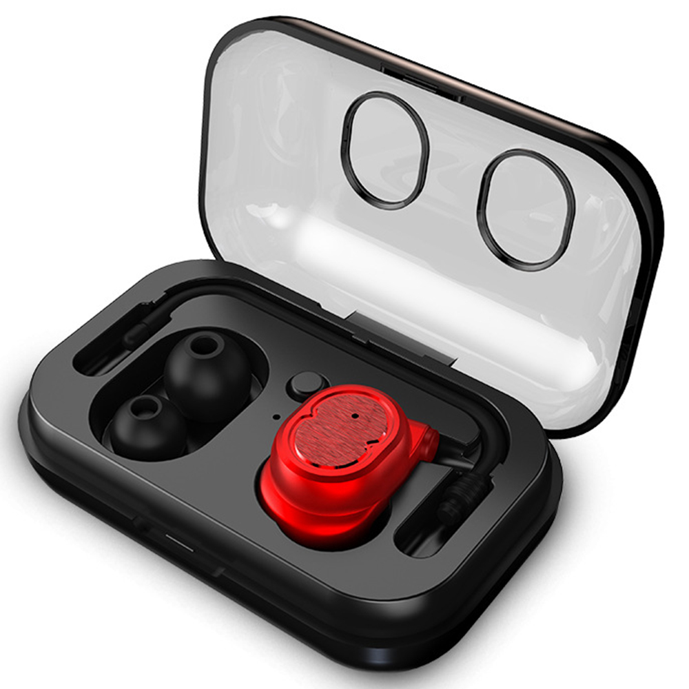 X6 Mini Wireless Bluetooth Earphones With Charging Box Case Auriculares Inalambrico Headset Ear