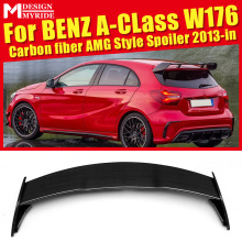 For Mercedes Benz W176 Rear Spoiler Sports AEAMG Style A-Class A180 A200 A250 Carbon Frunk Wing car styling 2013-in