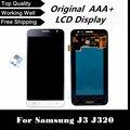 100% probado pantalla lcd con pantalla táctil digitalizador Para J3 J320 J320A J320F J320P J320M J320Y J320FN envío libre + seguimiento No.