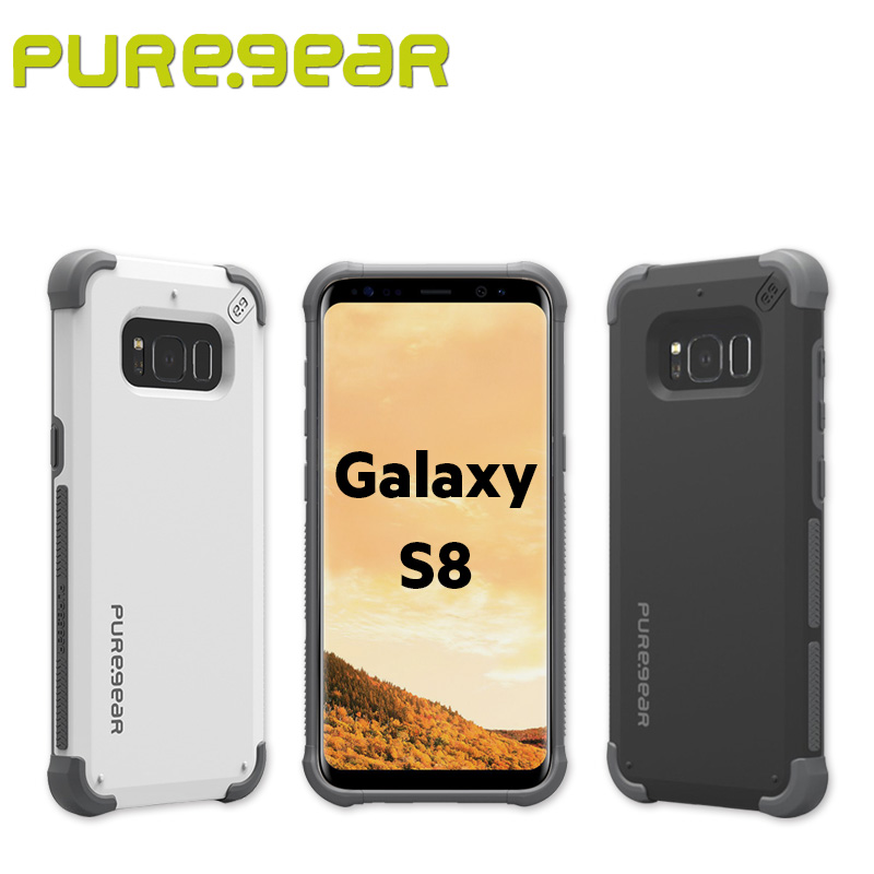buy popular d1ff0 4407f US $34.99 |Puregear Shock Absorbing DualTek Protective Case for Samsung  Galaxy S8 5.8