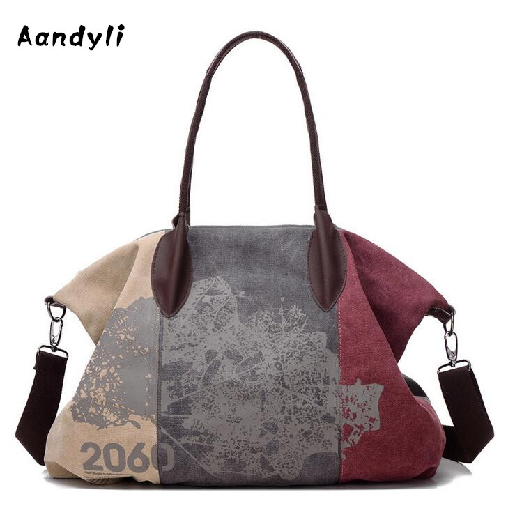 Fashion handbags Canvas Crossbody bags for Women single shoulder bag Women's messenger bag aosbos fashion portable insulated canvas lunch bag thermal food picnic lunch bags for women kids men cooler lunch box bag tote