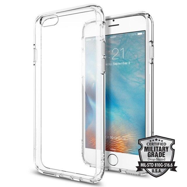 100% Original SPIGEN Ultra Hybrid สำหรับ iPhone 6 S/iPhone 6 (4.7