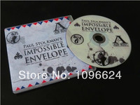 2010 Impossible Envelope By Paul Stockman Card Mental Stage Close Up Magic Props Mentalism Free Shipping