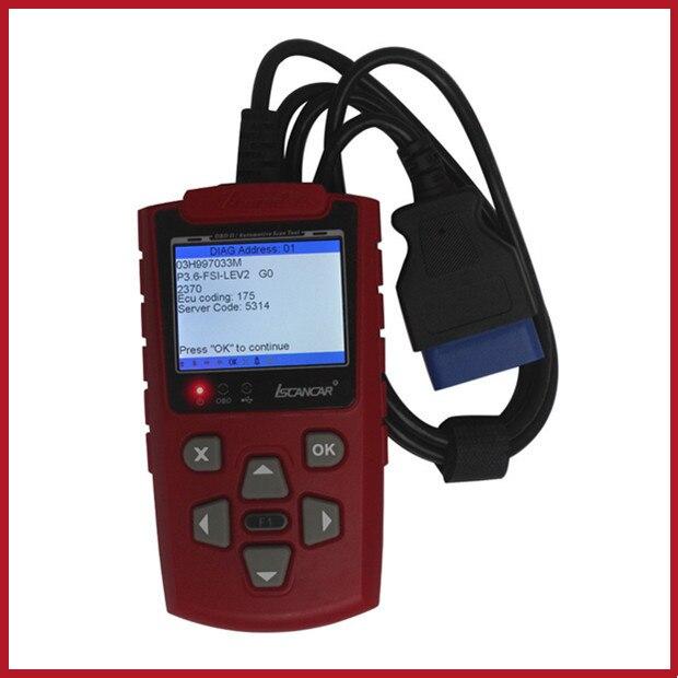 Цена за Супер VAG 3.0 ISCANCAR VAG KM ИММО OBD2 Код Сканер настроить пробег, читать код иммобилайзера Лучший Инструмент для VAG Свободный Корабль