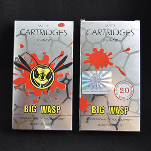 Image 5 - Originele Bigwasp Standaard Gebogen Ronde Magnum Tattoo Naald Cartridge 5/7/9/11/13/15/17/19/21/23/25/27RM