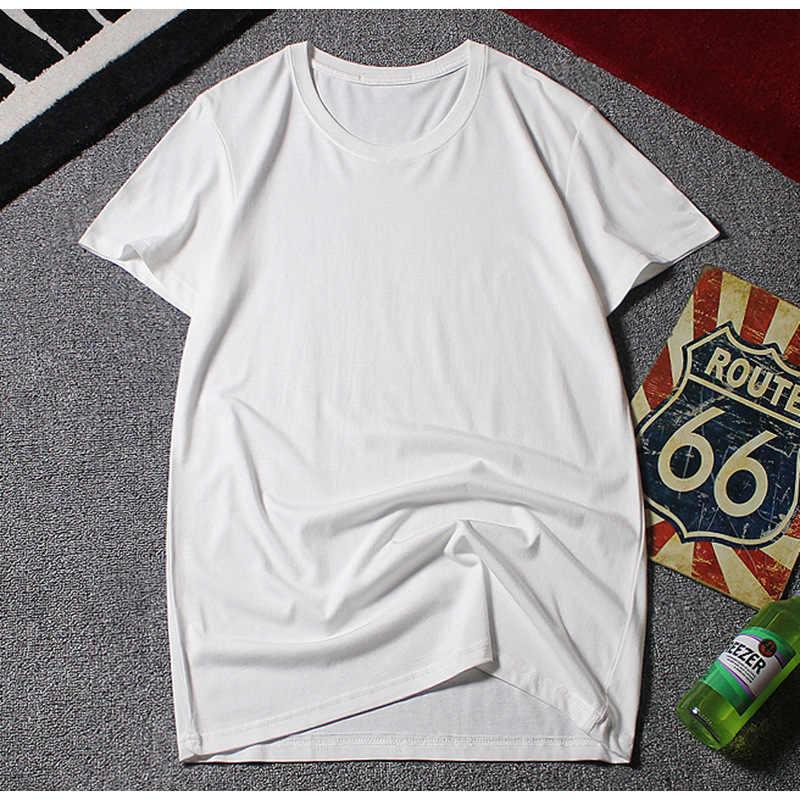 夏の Tシャツプラスサイズビッグ 6XL 男性カジュアル 8XL 10XL 綿シンプルなホーム Tシャツ無地黒 52 54 56 58 60 62 64 66 68 70