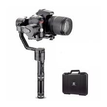Zhiyun Tecnologia Guindaste V2 3-Axis Bluetooth Handheld Cardan Estabilizador para Câmeras Mirrorless ILC + Difícil Caso, Estabilizador para Câmeras