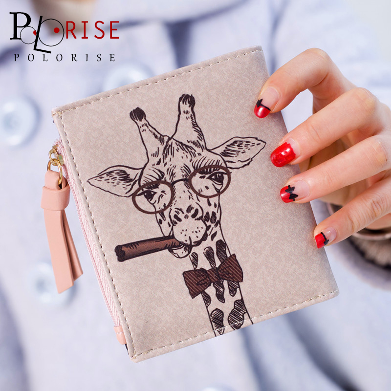 Women Bag 2016 Money Wallet Female Girls PU Leather Animal Prints Women Wallets Delicate Cash Card Holder Zipper Coin Purse B743 hot sale owl pattern wallet women zipper coin purse long wallets credit card holder money cash bag ladies purses