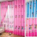 Respetuoso del medio ambiente Personalizar Cortina Acabada investigación de la Ventana Cortina de Dibujos Animados Niño Bebé Niños Cortina Dormitorio Para Niños Ratón