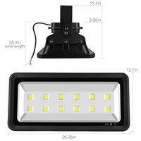 Outdoor Flood Light 600W Waterproof Super Bright White Light Spotlights Flood Lamp Wall Lights for Indoor Outdoor Parking Lot Se