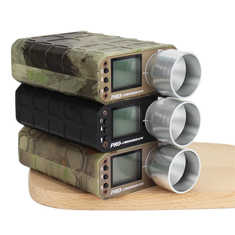 Camouflage Chasse Airsoft BB Tir Chronographe Speed Tester Chasse Accessoires