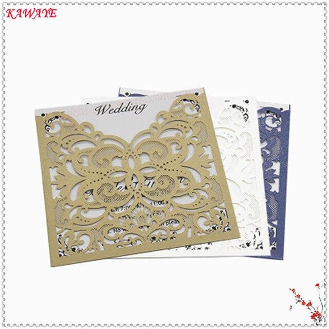 New 14pcs Elegant Hollow Wedding Invitation Card Blank Inner Sheet
