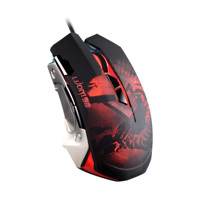 USB Wired Steelseries Mouse LED Optical Gaming Mouse Mice computer mouse 7 Button 3200DPI For PC Laptop Desktop 100% origianl steelseries kana v2 mouse optical gaming mouse