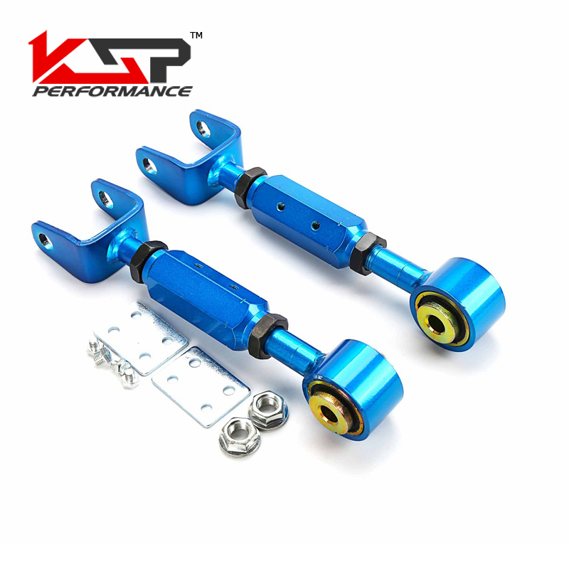Kingsun Rear Adjustable Alignment Suspension Camber Toe Kit/Traction Control Rod For Honda CRV 02-06 kingsun rear adjustable ball joint camber control suspension arm kit for 1990 1997 honda accord acura cl tl1996 1999 blue
