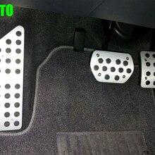 Авто педаль акселератора газа, подставка для ног и педаль тормоза для peugeot 508 Citroen C5 2013+, автостайлинг, авто аксессуары