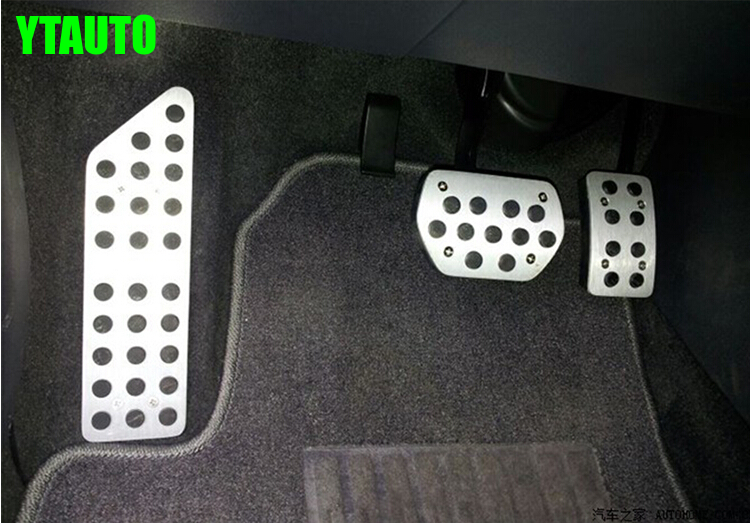 Auto gas accelerator pedal, footrest and brake pedal for Peugeot 508 Citroen C5 2013+, car styling,auto accessories