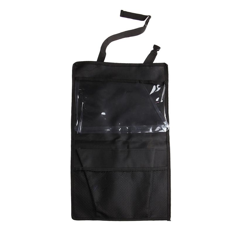 New Travel Organizer Storage Bag Car Seat Back Cover For Child Kick Mat